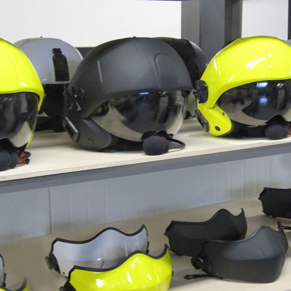rotary wing flight helmets by LD Project