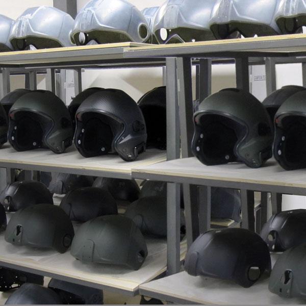 rotary wing flight helmets