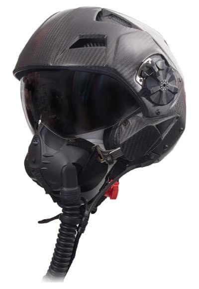 casco H-CMF per piloti da caccia