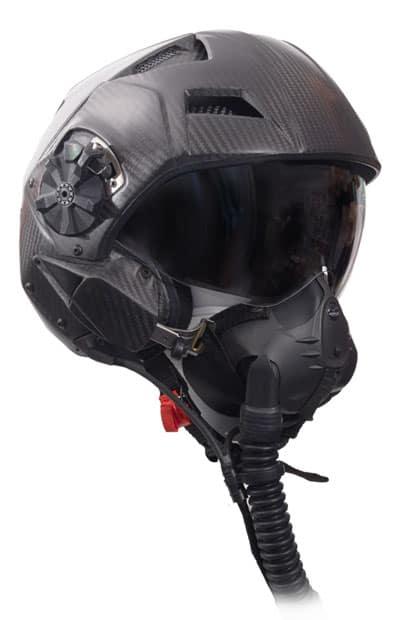 casco militare H-CMF per pilota da caccia